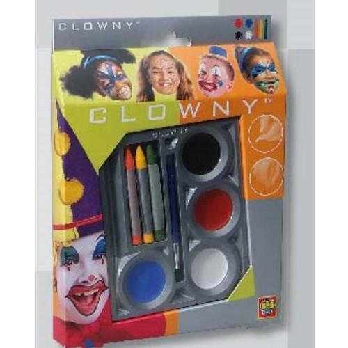 creioane-si-acuarele-colorate-clowny-pentru-fata