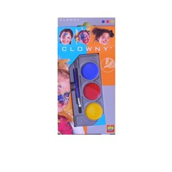 Acuarele 3 culori Clowny pentru fata