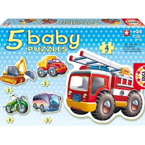 Baby Puzzle Vehicule