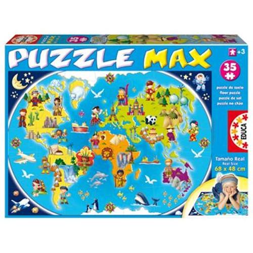 Educa Puzzle Prima Mea Harta 35 piese