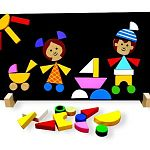 Magnetic Puzzle Children