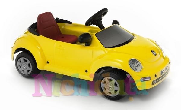 Masinuta cu pedale VW New Beetle