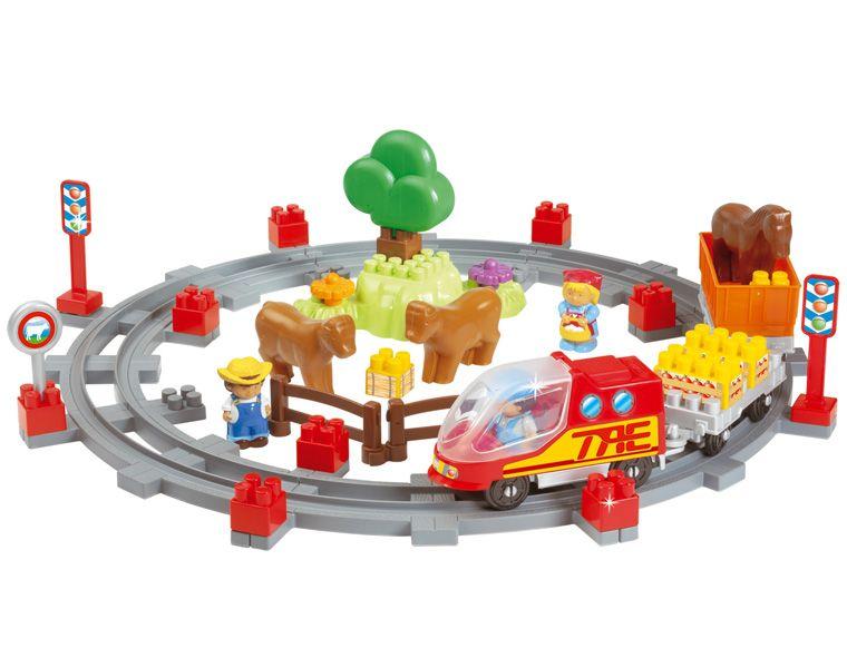 Trenulet cu 49 accesorii