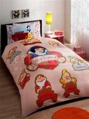 Lenjerie pat copii Alba ca Zapada