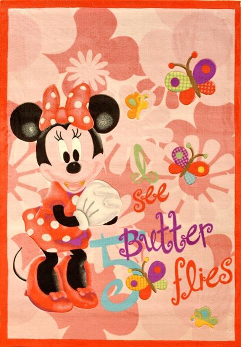 Covor copii Disney fetite cu Minnie