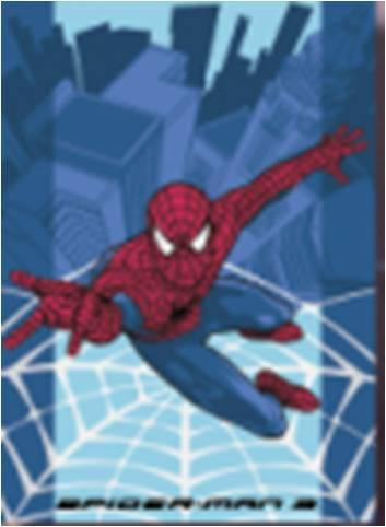 Covoras copii Spider Man Cityweb