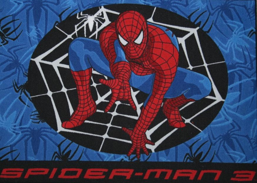 Covoras copii Spider Man Web