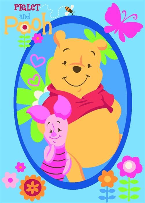 Covoras copii Winnie Pooh si prietenii