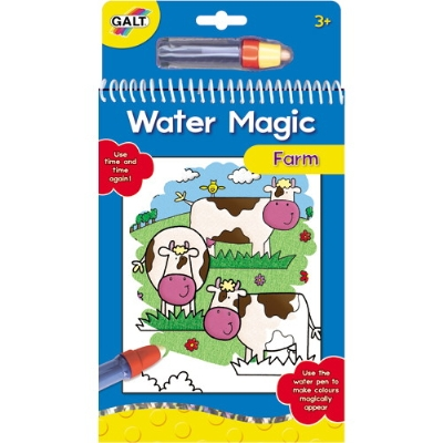 Water Magic: Carte de colorat - Ferma