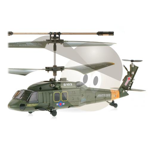 Elicopter Black Hawk UH-60 cu Gyro