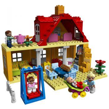 casa cu mansarda lego jucarii copii clubul jucariilor. Black Bedroom Furniture Sets. Home Design Ideas