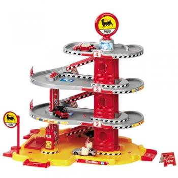 Garaj cu patru nivele si doua masinute