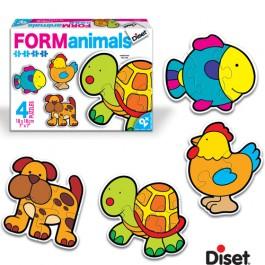 Puzzle cu animale