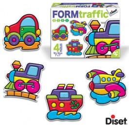 Diset Puzzle Trafic