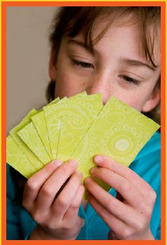 Jocuri cu carti de joc pentru copii mici