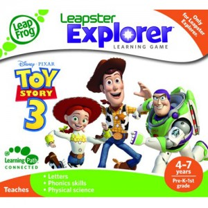 Tableta LeapPad Explorer + Soft Educational ToyStory 3