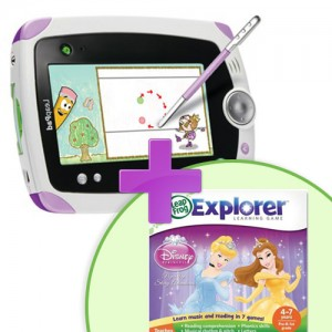 Tableta LeapPad Explorer + Soft Educational Printesele Disney