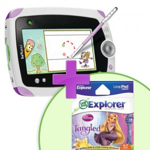 Tableta LeapPad Explorer + Soft Educational Rampunzel