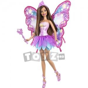 Papusa Barbie cu aripi