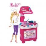 Bucatarie Barbie Cofetaria Vesela