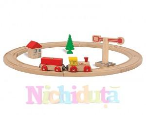 Trenulet de lemn Eichhorn