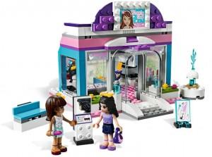 Salon de coafura fetite Lego