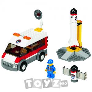 Lego City Rampa de lansare a satelitului