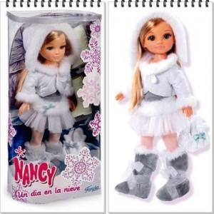 Papusa Nancy cu patine
