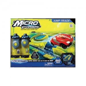Masinuta Micro Chargers cu pista si lansatoare