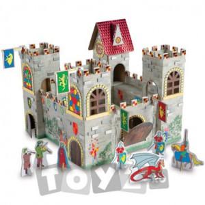 Castel de jucarie cu personaje de poveste