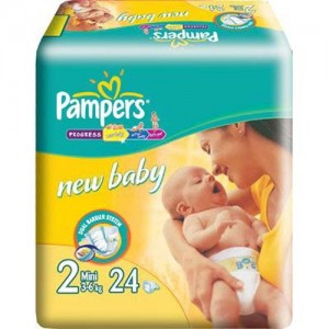 Scutece Pampers New Baby 2 Mini 24 buc