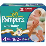 Scutece Pampers Activ Baby 4 Maxi MegaBox 162 buc