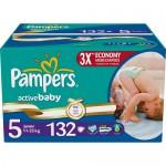 Scutece Pampers Activ Baby 5 Junior MegaBox 132 buc