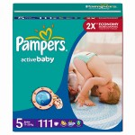 Scutece Pampers Active Baby 5 Junior Mega Pack 111 buc