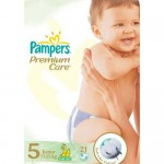 Scutece Pampers Premium Care 5 Junior 21 buc
