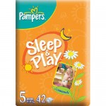 Scutece Pampers Sleep and Play 5 Junior 42 buc