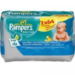 Servetele umede Pampers Baby Fresh Duo 128 buc