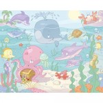 Tapet copii Baby Under The Sea