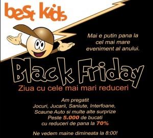 Black Friday la jucarii pe 29 noiembrie