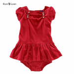 rochita catifea rosie fetite