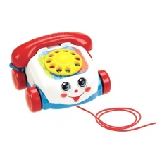 Telefonul vorbitor Fisher Price la reducere