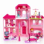 Resedinta de lux Barbie Megablocks