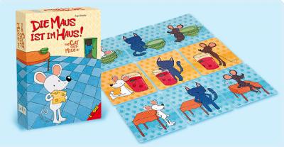 Joc Logis - Cand pisica nu-i acasa, soarecele joaca pe masa