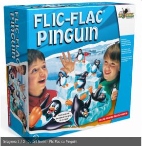 Joc cu pinguini de la Noriel Flic Flac