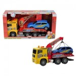 camion cu macara de jucarie
