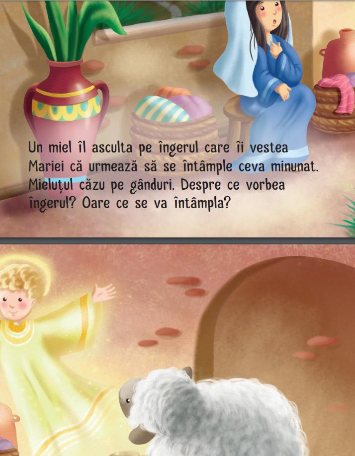carte copii nasterea lui Isus
