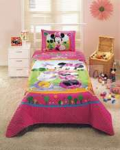 Cuvertura pat copii Disney Minnie