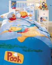 Lenjerie cu pilota Disney Winnie the Pooh