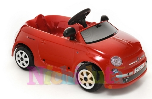 Masinuta cu pedale Fiat Nuova 500