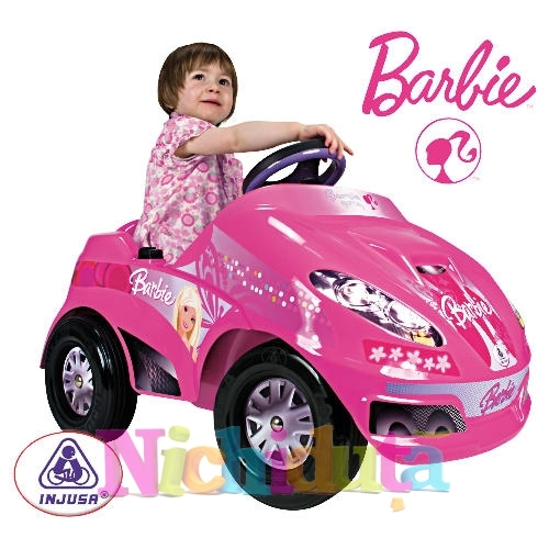 Masinuta Electrica Speedy Car Barbie